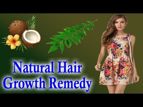 Natural Remedies For Hair Growth And Thickness  - Best And Easy Way To Get Long Hair
