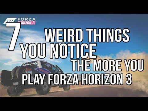 7 Things You Notice The More You Play Forza Horizon 3