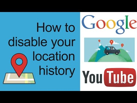 how to turn off android location tracking | stop android google location history