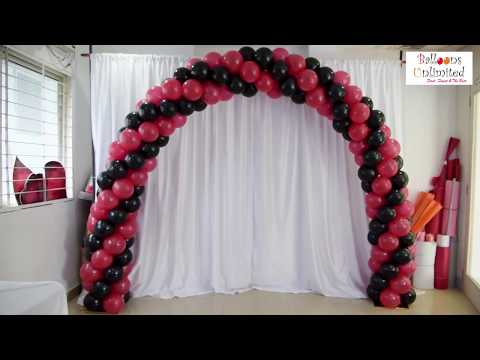How to make Balloon Arch at home !!