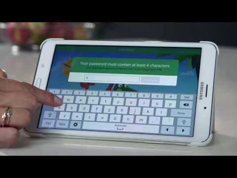 Samsung Galaxy Tab 4  | How To: Kids Mode