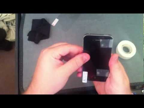 How To: Perfectly Fit a Screen Protector on a iPhone 4s
