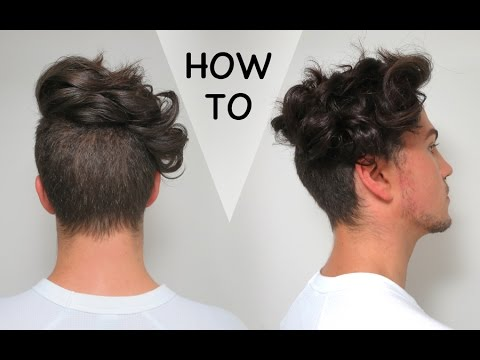How To Curl Your Hair (with a GHD) - Men's Hair Styling