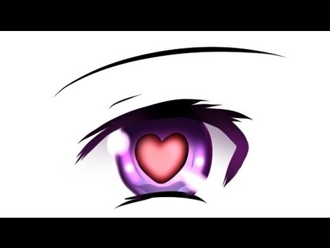 How to draw - Anime eyes