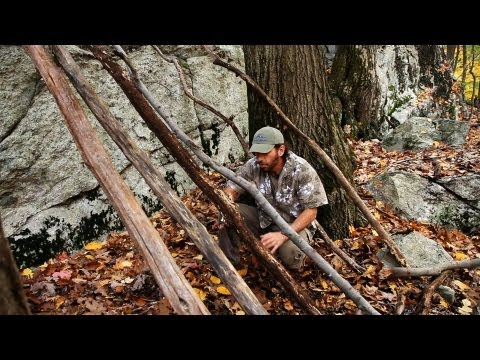 Build Framework for an Outdoor Shelter | Survival Skills