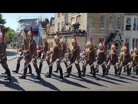 Royal wedding rehearsal kicks off on the streets of Windsor