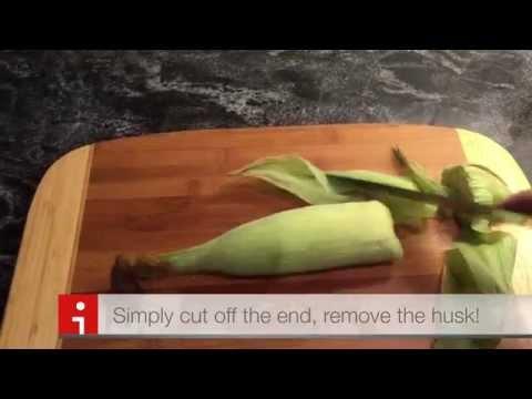Life Hack: Perfect Corn on the Cob -- no silk, no husk!