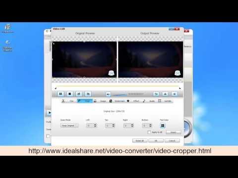Video Cropper for Mac and Windows - Crop MP4, AVI, MOV, WMV, MKV etc