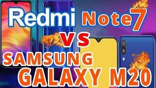 Redmi Note 7 vs Samsung Galaxy M20