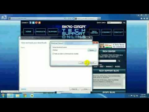 Tech Support: How to change the Default Download Location in Internet Explorer