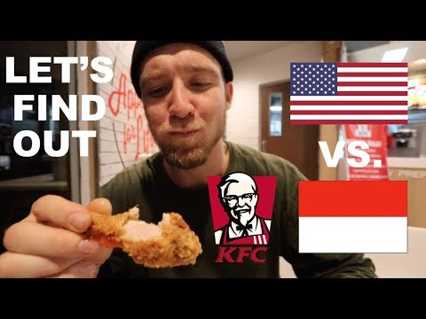 Xxx Mp4 Is KFC In INDONESIA The Same As AMERICA 3gp Sex