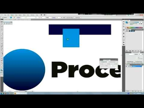 Illustrator and Printing Process Tutorial, Doing a Spot-To-Spot Gradient (Pantones) with Overprint