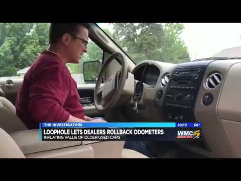 Federal exemption allows auto dealers to roll back odometers