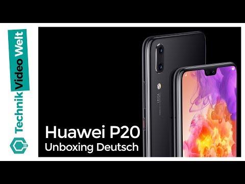 Huawei P20 Unboxing Deutsch