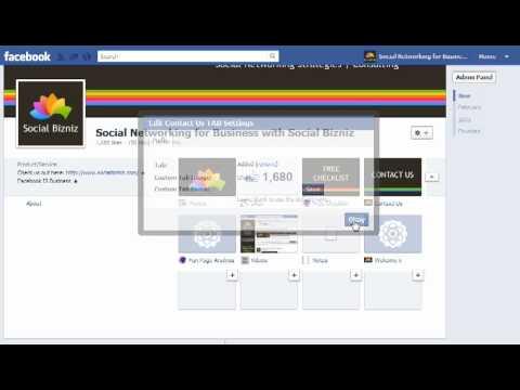 Change tab images on Facebook page timeline