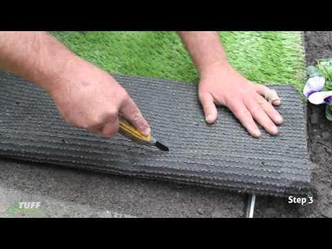 Tuff Turf - DIY Grass Install