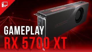 Radeon RX 5700 XT em ação! Colocamos a Navi para rodar games!
