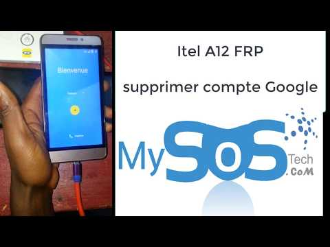 ITEL A12 BYPASS FRP reset google protection