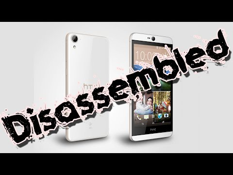 Disassembly Of HTC Desire 826 Dual Sim