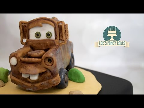 Disney's Cars Mater cake topper rusty truck