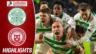 Celtic 2-1 Hamilton   Scott Brown's Last Minute Goal Seals Celtic's Victory   Ladbrokes Premiership