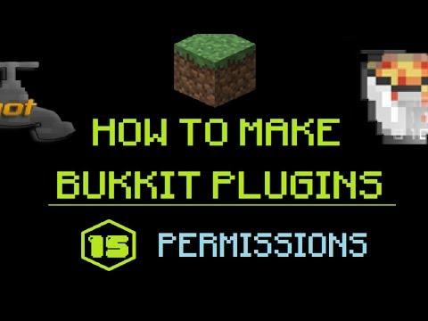 How to Make Bukkit Plugins #15: Permissions | MINECRAFT 🔌