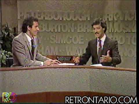 CKVR News Kevin Frankish (1985)