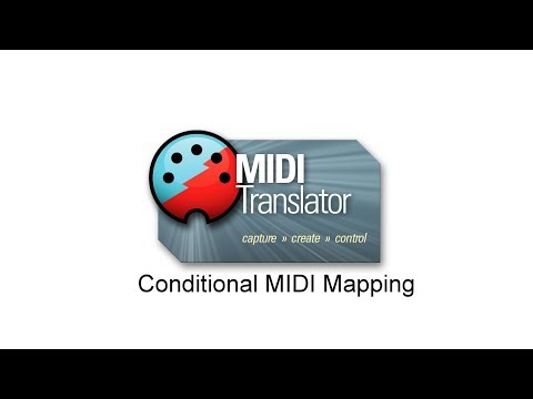 Tutorial: Conditional MIDI mapping using Bome MIDI Translator Pro