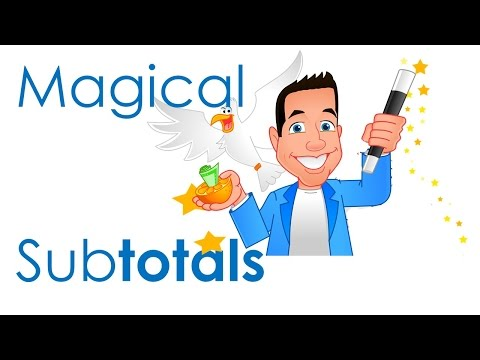 Subtotals in Excel - Tips & Tricks for Calculations