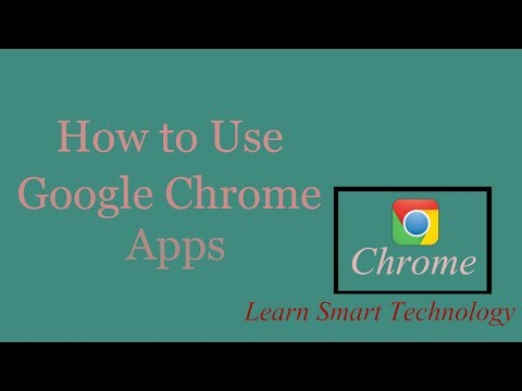 How to Download and Install Google Chrome Apps 2018