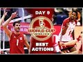 Men39s Volleyball World Cup 2019 Best Actions Day 9 HD