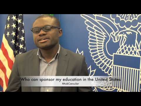 Student Visas FAQ - Who can sponsor my education in the U.S.?