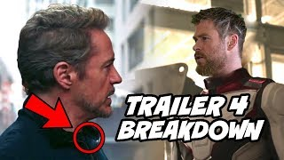Avengers Endgame Special Look Breakdown Trailer 4 in Hindi Iron man New Suit