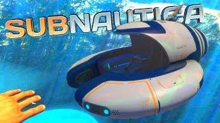 SEAMOTH CONSTRUCTION and RESCUED at DRY LAND?! - Subnautica Full Release Gameplay