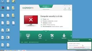 How to Perform a Kaspersky Antivirus Offline Update