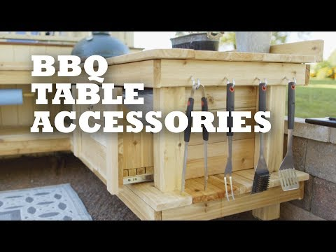 BBQ Table Accessories