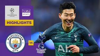 Manchester City 4-3  Tottenham | Champions League Highlights