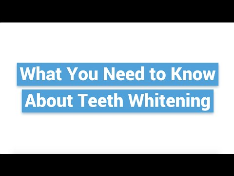 What You Need to Know About Teeth Whitening   APLUS Institute   Toronto Dental Hygiene School