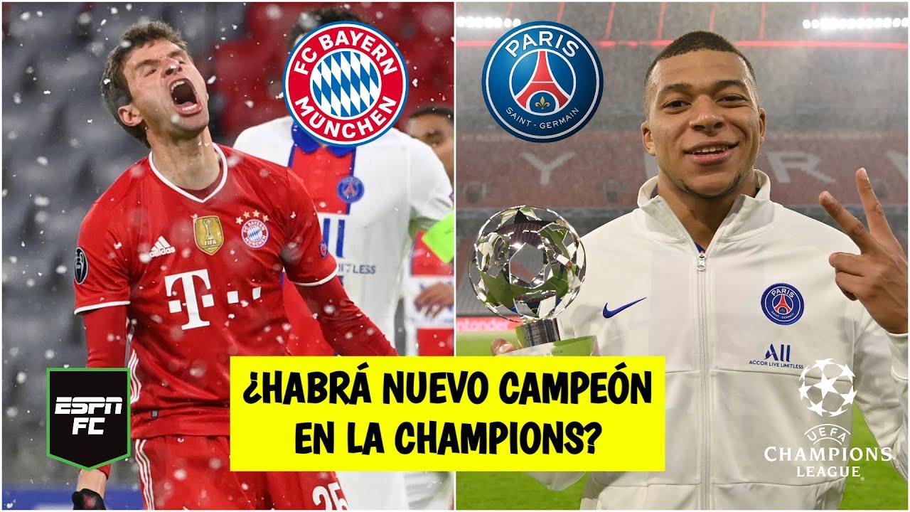 CHAMPIONS LEAGUE Golpe al campeón. PSG le metió tres al Bayern en Munich. Cierran en París | ESPN FC