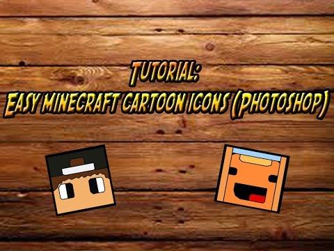 Tutorial: Easy minecraft cartoon icons (Photoshop)