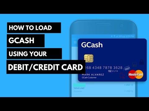 How to Load Gcash using MasterCard or Visa Card