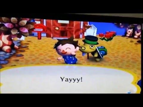 Animal Crossing City Folk - Getting The Golden Fishing Rod