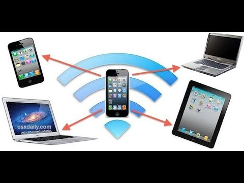 How to share internet through mobile