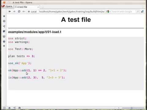A test file in Perl