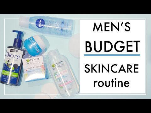 Cheap / Budget Daily Skincare Routine. Men's Grooming Tips   ✖ James Welsh