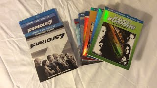 Furious 7 (2015) Blu Ray Review and Unboxing