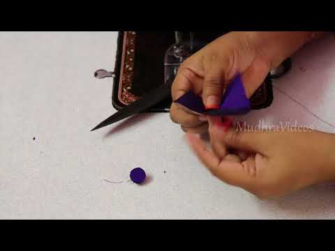 How to Make Ready Made Fabric Buttons