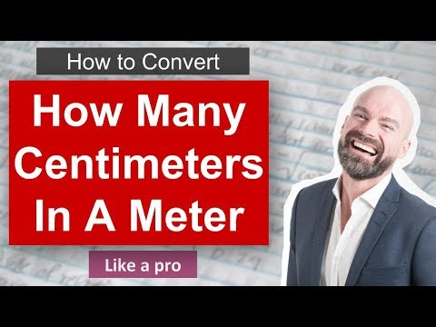 ✅ How Many Centimeters In A Meter