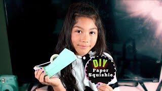 Download DIY SLOW RISING PAPER SQUISHY!! | Txunamy Video