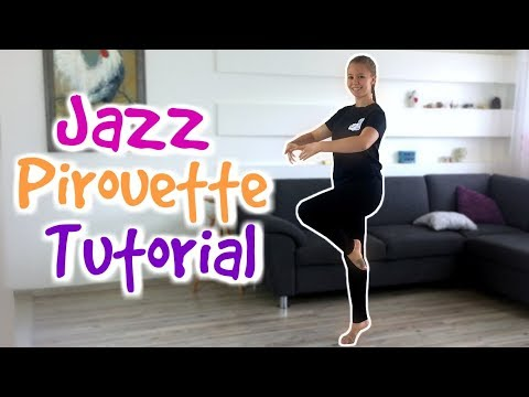 How to do a JAZZ PIROUETTE 💃 TURNS EXPLAINED